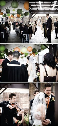 Real Wedding: Andrea and Jesse's Tender-Hearted Celebration | Style Me Pretty