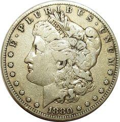 1880 O Morgan Silver Dollars | Early Silver Dollars