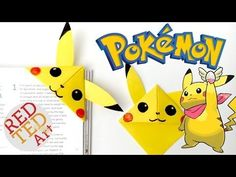 9 Pokemon Bookmark Corner Designs - Pokemon Go DIY - Red Ted Art's Blog