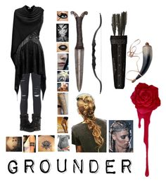 """""""// The 100 // If I was a grounder //"""" by sillylivy13 on Polyvore featuring Frame Denim and UGG Collection"""