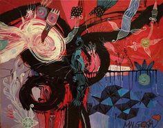 PANIC ROOM Acrylic on canvas  #painting #instaart #art #instapainting #painter #artist  #felttippendrawing #graphic #illustration #ng #color #kunst #malerei #zeichnung #colage #malarstwo #rysunek #grafika  #love  #Berlin #Wroclaw #Graffiti #november #abstractartist #modernart #pencil #instagram #watercolor #art_gallery  #malgosiakiernozyckaartonawall