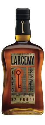 Old Fitzgerald Larceny Larceny was hand selected by the Master Distillers to have a taste profile of a six-year-old Kentucky Straight Bourbon Whiskey. Made with wheat as the secondary grain, instead of the traditional rye. www.marussiabeverages.co.uk