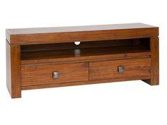 Mueble TV de madera de mindi Nature
