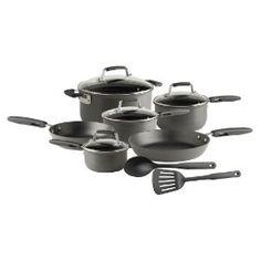 TeFal Flexi-Grip Hard Anodized 12-Piece Cookware Set Review