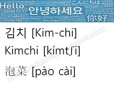 Easy Korean Food Recipes, Travel, Basic Korean Vocabulary      김치, 泡菜, Kimchi, flash card           -            Easy Korean Food Recipes, Travel, Basic Korean Vocabulary