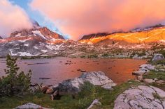 Sunrise on John Muir Trail by Sashikanth R Chintla