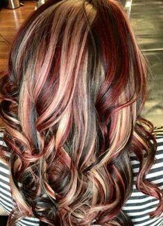 58e09517f4909d0c84720c9d747039b0 - Inspirational Blonde Chunks In Brown Hair