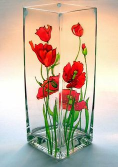 18 best Ideas for diy crafts painting glass jars. 18 best Ideas for diy crafts painting glass jars Glass Painting Patterns, Painting Glass Jars, Painted Glass Bottles, Glass Painting Designs, Painted Vases, Bottle Painting, Ceramic Painting, Glass Art, Diy Painting