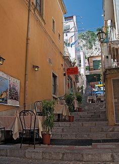Al Fresco Alley - Taormina, Sicily, Italy