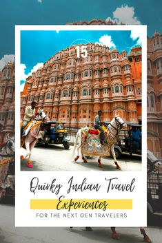 Often when you are planning your holiday in India, the first thing that you want to check off your travel bucket list is visiting one of the Seven Wonders of the World: Taj Mahal. But what next? Everybody wants to make the most out of their trips and would like to experience a place from a local's point of view. That's why I have compiled this list of some quirky Indian travel experiences that I highly recommend to be on your India travel bucket list!  #exploreindia #bucketlist Go Glamping, Air Balloon Rides, Virtual Travel, Desert Life, Seven Wonders, Travel Themes, India Travel, Heritage Site, Continents