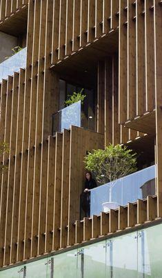 *도시에서 잊혀졌던, 질적인 가치를 강조한 테헤란의 건물-[ LP2 ] Saadat Abad Commercial Office Building :: 5osA: [오사]