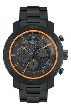 Movado 'Bold' Chronograph Bracelet Watch, 46mm