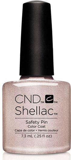 CND Shellac Gel Polish Safety Pin- .25 fl oz