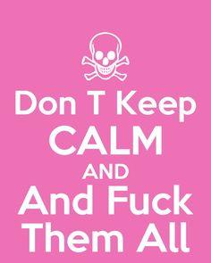 Keep calm...~Kris ♥