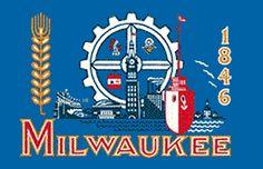 Milwaukee, Wisconsin flag