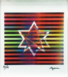 Yaacov Agam, Star of David available at #gallartcom