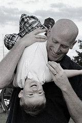 Cute Father  Son