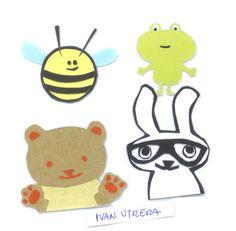personajes de papel