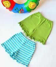 Handmade dětské oblečení - Handmade children clothing #handmade #children #clothing #shortpants #modrykonik