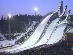 Lahti, Finland, Ski Jumps in my home town.