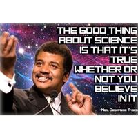 The Good Thing About Science Neil deGrasse Tyson Magnet
