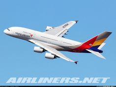 Airbus A380-841 - Asiana Airlines | Aviation Photo #4480037 | Airliners.net