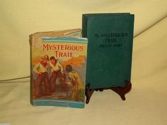 Mysterious Trail by Philip Hart HC/DJ Saalfield Publishing 1934 Cowboy Indian