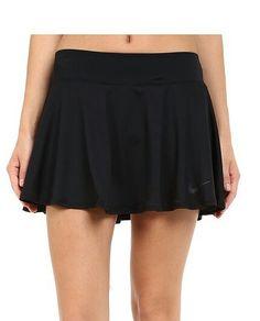 100% authentic fac85 33761 Cute, classic black nike tennis skirt