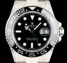 48411e5beeb9 Rolex GMT-Master II Gents Stainless Steel Black Dial Ceramic Bezel B P  116710LN