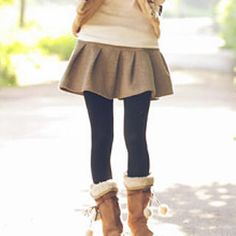 Pleated Knit Skirt from #YesStyle <3 Tokyo Fashion YesStyle.com