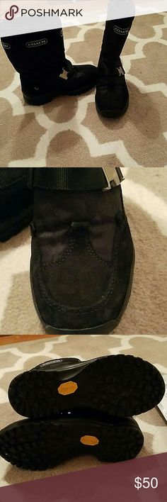 Coach winter boots Very lightly used, in great shape. Price is firm Coach Shoes Winter & Rain Boots