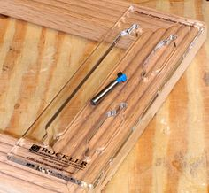 Rockler Picture Hanging Keyhole Slot Template -    Making what should be a simple cut simple in the real world