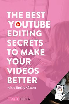 Emily Olson is here to share her insider secrets for taking your channel to the next level with editing. There's also a bonus just for YTPH insiders! Marketing Software, Marketing Tools, Marketing Ideas, Marketing Strategies, Media Marketing, Youtube Editing, Video Editing, Free Seo Tools, Sem Internet