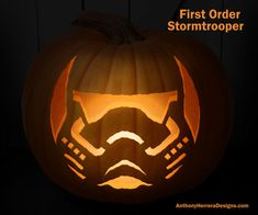 Print And Carve Out Star Wars Pumpkins Yoda Halloween
