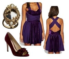 The Evil Queen inspired outfit from Disney Snow White and the Seven Dwarts