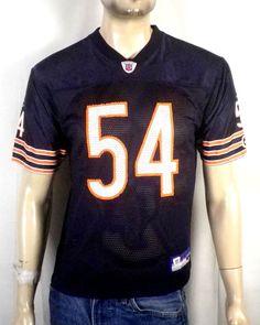 euc Reebok On Field Chicago Bears Brian Urlacher Jersey NFL youth L adult  XS  Reebok 281ad62be
