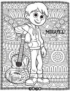 28 Mejores Imágenes De Coco Fiesta Mexicana Marcos Y Bordes De Página