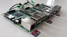 raspberry pi hadoop cluster boards