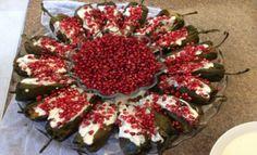 Chiles en nogada - una de las principales tradiciones Mexicanas en la gastronomía...conoce #mexico y #viajadiferente #eldiaqueviaje