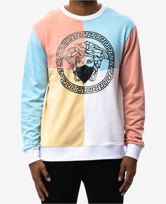 1ccc0016248bb2 Hudson Nyc Men s Colorblocked Graphic-Print Sweatshirt Hudson Nyc