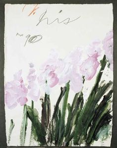 """jarchiving:  """"Cy Twombly  """""""