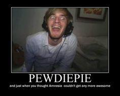 Not gonna lie, he makes me laugh.