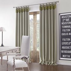 (One Pair) Solid Modern Blackout Curtain – USD $ 49.99