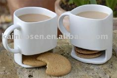 Hot Selling Milk Cup with Cookie holder 1.FDA certificate 2.Size:10*9.5cm 3.Microware safe 4.Your logo welcome