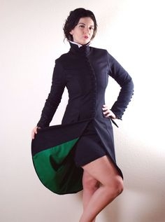 Made To Order Sexy Severus Snape Coats For Ladies   Geekologie