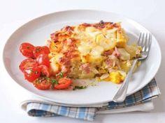 Recept: Francouzské brambory 2   Tradičnírecepty.cz Cauliflower, Macaroni And Cheese, Vegetables, Ethnic Recipes, Food, Mac And Cheese, Cauliflowers, Essen, Vegetable Recipes