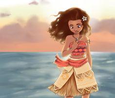 Moana by mokuepo.deviantart.com on @DeviantArt