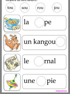 French Language Lessons, French Language Learning, French Lessons, Spanish Lessons, Dual Language, Learning French For Kids, Learning Italian, Learning Spanish, Spanish Activities