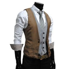 GOT! Vest for groom, snazzy!