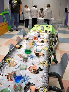 The Dieter Family: Max's Mad Scientist Party